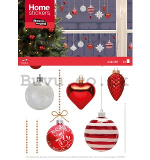 Christmas glass sticker - Decorations (2)