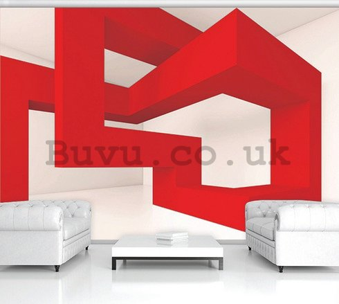 Wall Mural: 3D Abstract - 254x368 cm