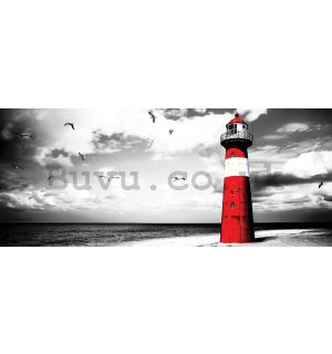 Wall Mural: Lighthouse (2) - 104x250 cm