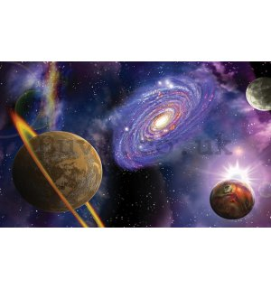 Wall Mural: Space (2) - 184x254 cm