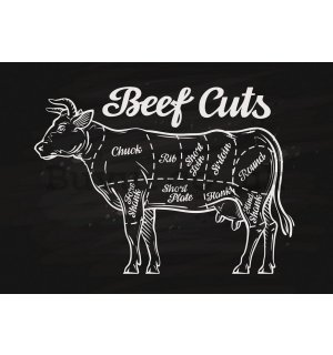 Wall Mural: Beef - 184x254 cm
