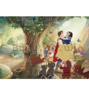 Wall Mural: The Snow white and prince (Snow White) - 254x368 cm