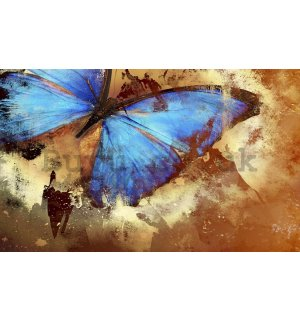 Wall Mural: Painted butterfly - 254x368 cm