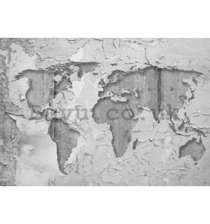Wall Mural: Artistic map of the world (2) - 254x368 cm