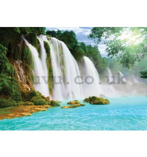Wall Mural: Waterfalls - 184x254 cm