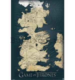 Poster - Game Of Thrones (Map)