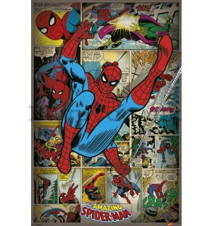 Poster - Marvel Comics (Spider-Man Retro)