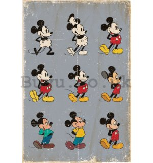 Poster - Mickey Mouse (Evolution)