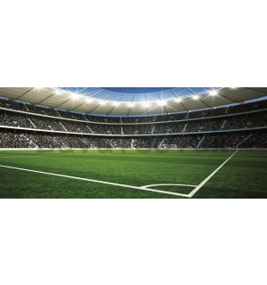 Wall Mural: Football Stadion (2) - 104x250 cm