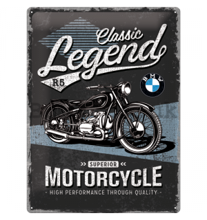 Metal sign: BMW Classic Legend R5 - 40x30 cm