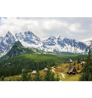 Wall Mural: Tatra Mountains (1) - 254x368 cm