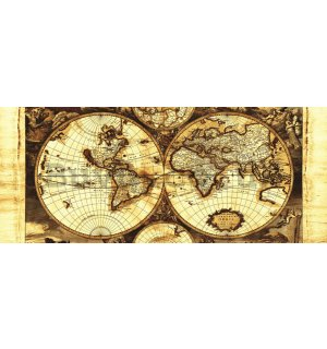Wall Mural: Map - 104x250 cm