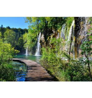 Wall Mural: Plitvice Lakes (1) - 184x254 cm