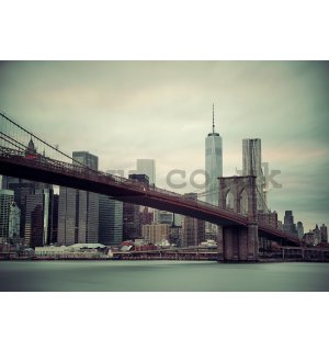 Wall Mural: Brooklyn Bridge (2) - 254x368 cm