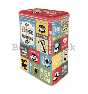 Clip top box - Coffee of the Morning