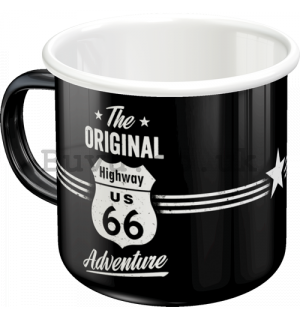 Enamel mug - The Original Route 66 Adventure