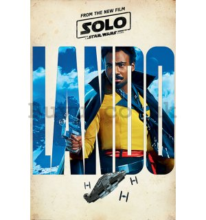Poster - Solo A Star Wars Story (Lando Teaser)