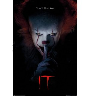 Poster - IT (Pennywise Hush)