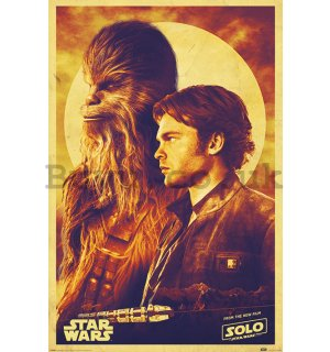 Poster - Solo A Star Wars Story (Han and Chewie)