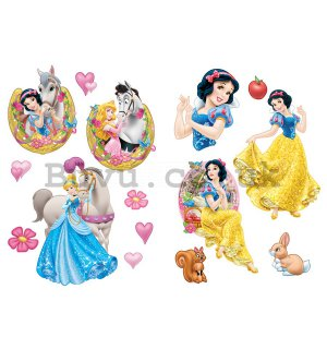 Sticker - Princess (Snowman and Cinderella)