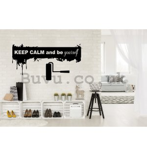 Sticker - Keep Calm and Be Yourself