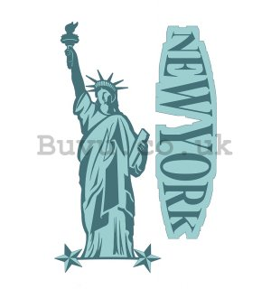 Sticker - New York (Statue of Liberty)