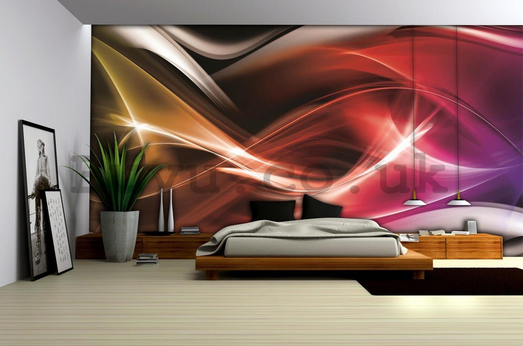 Wall Mural: Abstraction - 254x368 cm