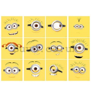 Sticker - Minions (faces)