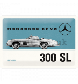 Metal sign: Mercedes-Benz 300 SL - 30x20 cm
