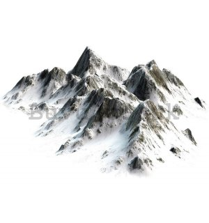 Wall mural vlies: Snowy mountains - 184x254 cm