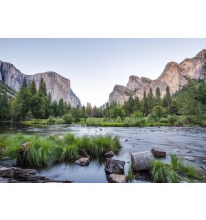 Wall mural vlies: Yosemite Valley - 184x254 cm