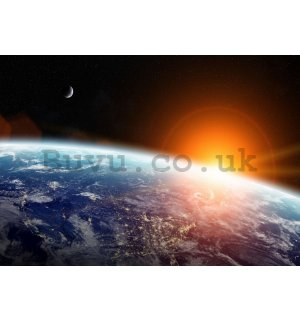 Wall mural vlies: Planet Earth - 184x254 cm