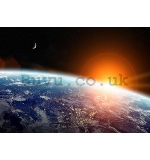Wall mural vlies: Planet Earth - 254x368 cm