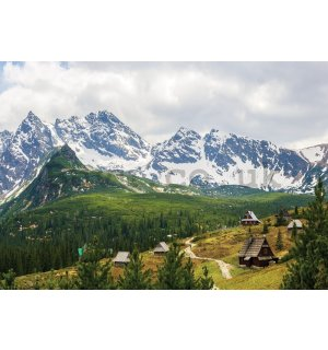 Wall mural vlies: Tatra Mountains (1) - 254x368 cm