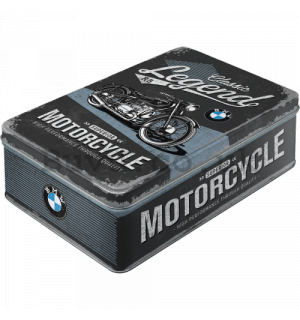 Tin box flat - BMW Motorcycle (Classic Legend)