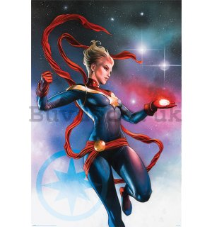 Poster - Captain Marvel (Galaxy)