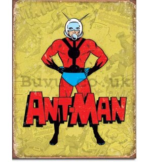 Metal sign - Ant-Man (Retro)