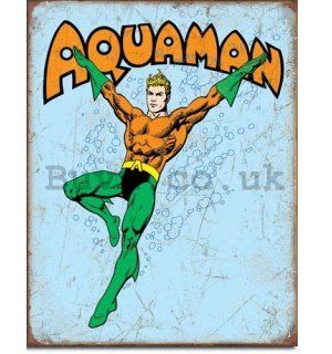 Metal sign - Aquaman