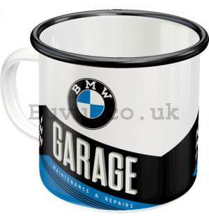 Enamel mug - BMW Garage
