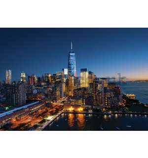 Wall mural: New York City (1) - 184x254 cm