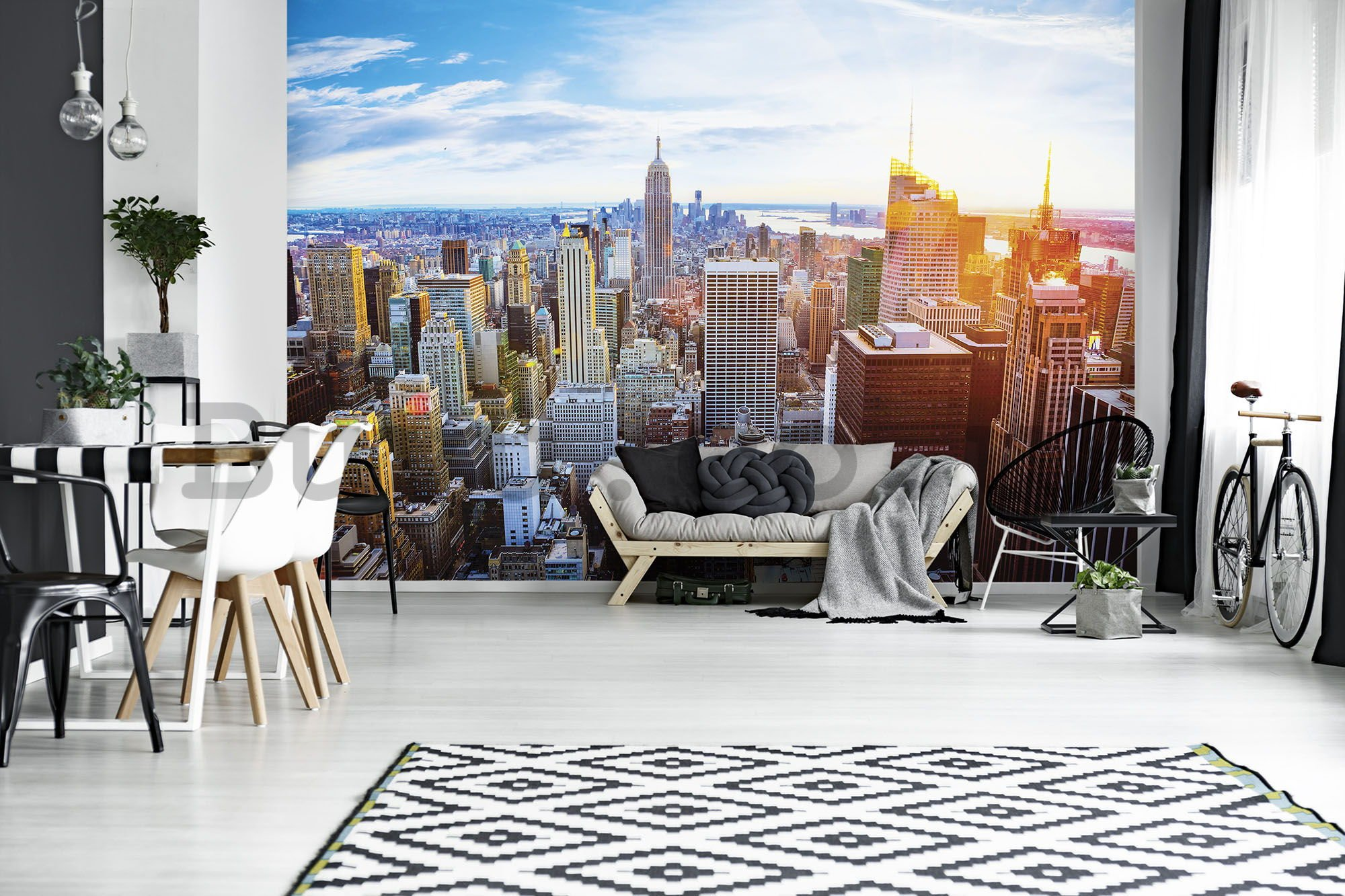 Wall mural: Manhattan (4) - 254x368 cm