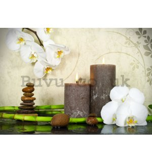 Wall mural vlies: Spa still life (1) - 184x254 cm