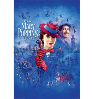 Poster - Mary Poppins Returns (Spit Spot)