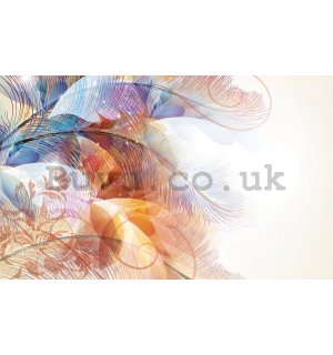 Wall Mural: Colourful flowers (5) - 184x254 cm