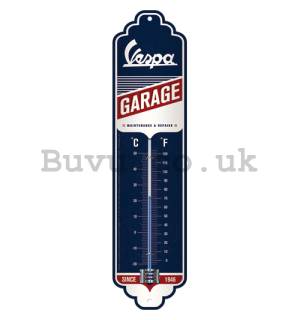 Retro thermometer - Vespa Garage