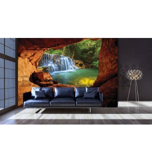 Wall mural: Waterfall (7) - 184x254 cm
