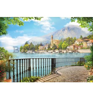Wall Mural: View of Lake Como - 184x254 cm
