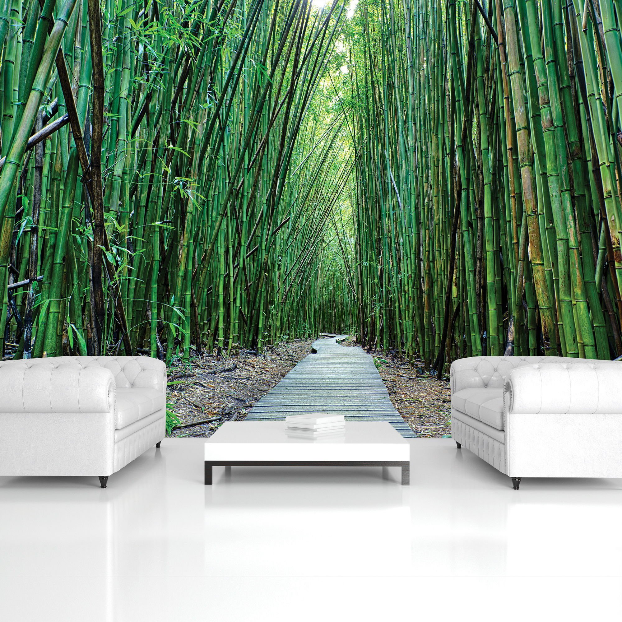Wall mural: Bamboo forest (2) - 254x368 cm