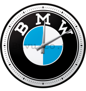 Retro wall clocks - BMW Logo