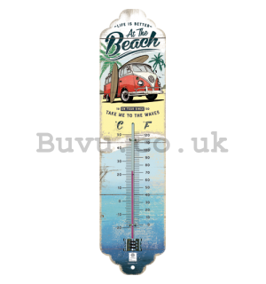 Retro thermometer - VW At the Beach